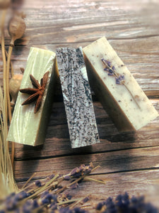 Gift Box of 3 Natural Soap bars min 300g - Mad About Nature