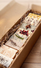 Load image into Gallery viewer, Handmade Luxury Soap Selection Gift Box. All natural, vegan & vegetarian friendly. - Mad About Nature
