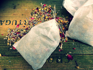 Herbal Bath Tea Bags 50g (3 in pack) - Mad About Nature