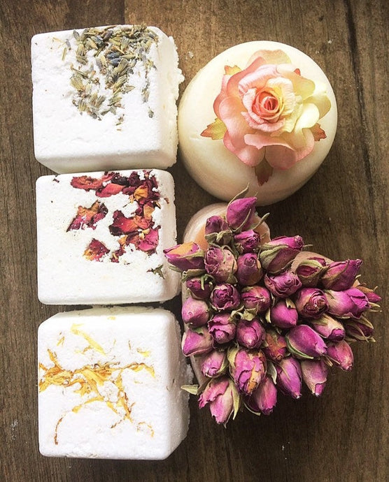 Beautiful Soap & Bath Bomb Gift Box - Madaboutnature