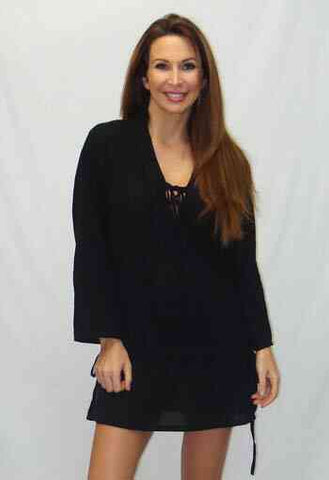 Lace Up Kaftan B