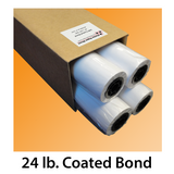 24 lb Coated Bond