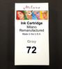 Gray Ink Cartridge - Designjet T1100/T1120/T1200/T1300/T2300