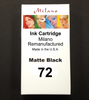 Matte Black Ink Cartridge - Designjet T1100/T1120/T1200/T1300/T2300