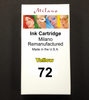 Yellow Ink Cartridge - Designjet T1100/T1120/T1200/T1300/T2300