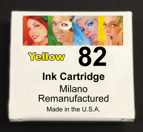 Yellow Ink Cartridge - Designjet 500/800/815/820