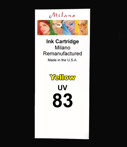 Yellow Ink Cartridge - Designjet 5000/5500 UV