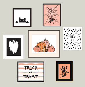Halloween Wall Art Collection