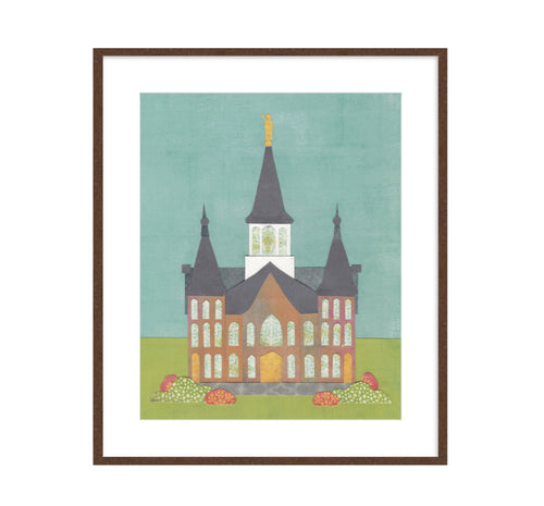 Provo City Center Temple wall art