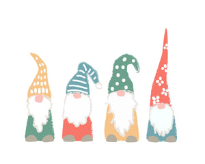 Christmas Holiday Gnomes to make your walls happy!