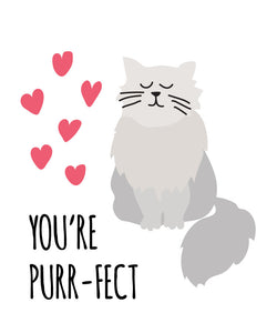 Kitty Cat Valentines Cards
