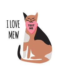 Load image into Gallery viewer, Kitty Cat Valentines Cards