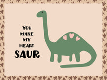 Load image into Gallery viewer, Dinosaur Valentines
