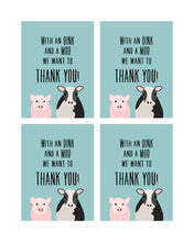 Load image into Gallery viewer, Farm Animals Party Posters, Invitation and Thank You