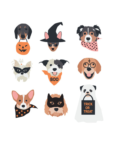 Halloween Puppies Poster - new puppies 2.0
