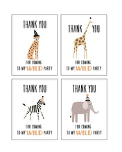 Load image into Gallery viewer, Wild Animals Party Pack - tan