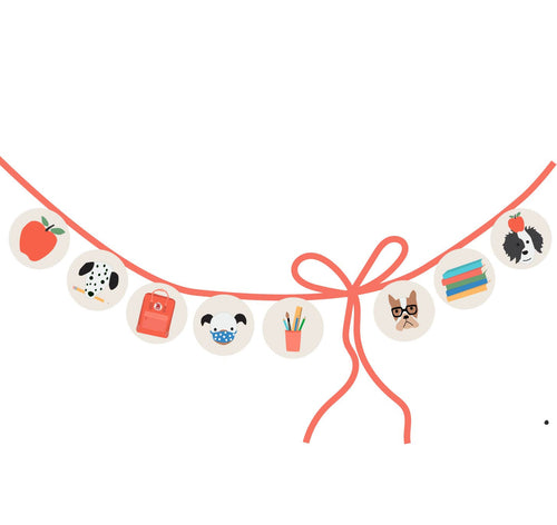Puppy Dog School Classroom Banner