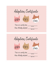 Load image into Gallery viewer, Kitty Cat Party Pack Pink -  Invitation, Posters, Cards