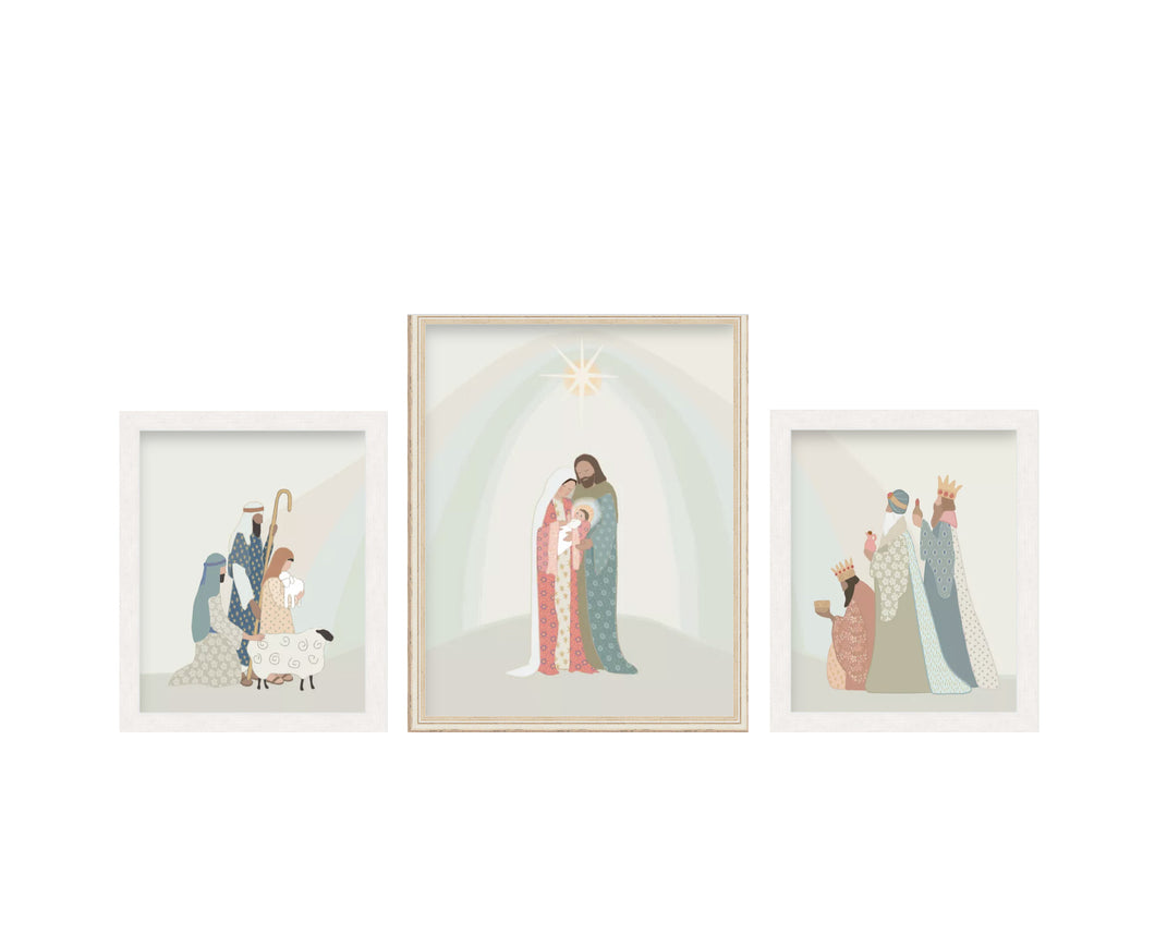 Prince of Peace Christmas Nativity Art