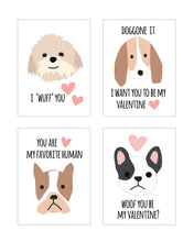 Load image into Gallery viewer, Pink Puppy Dog Valentines