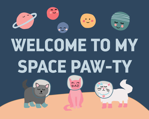 Space Cats Party Pack