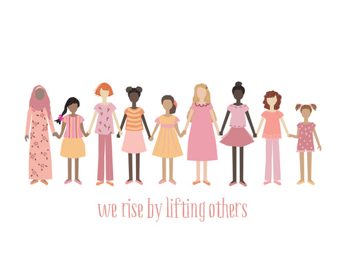 We Rise By Lifting Others Wall Art