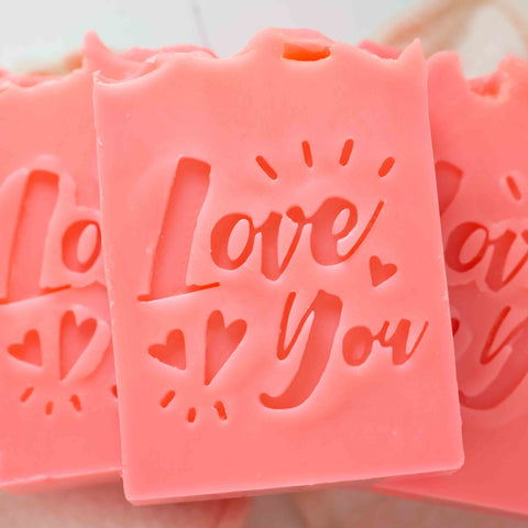 Bar Soap Gift that Says I Love You