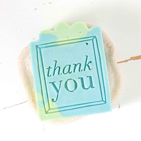 thank you gift soap