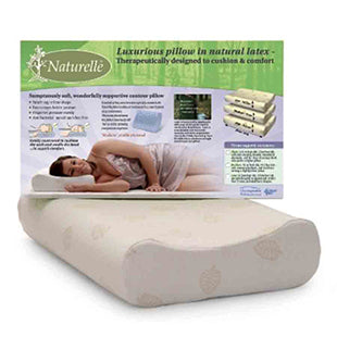 NATURELLE LATEX PILLOW GENTLY CONTOURED