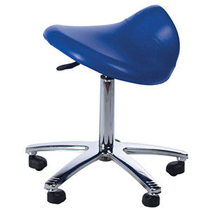 Adjustable Height Saddle Stool