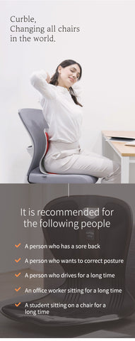 Curable Comfy Posture Corrector Chair