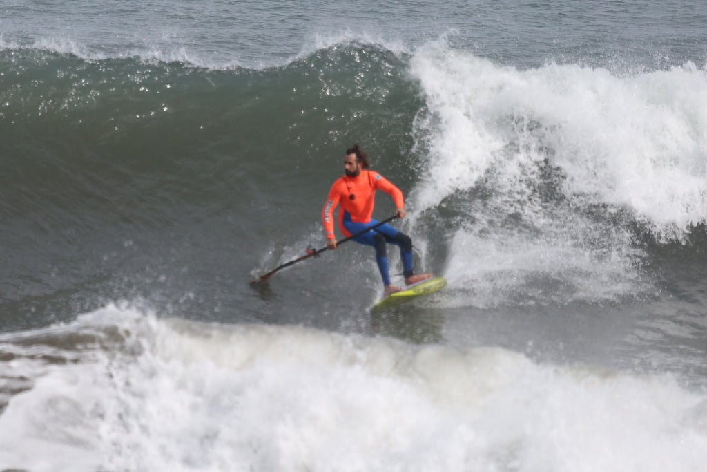 How to SUP surf with #teamRSPro: bottom turn backside