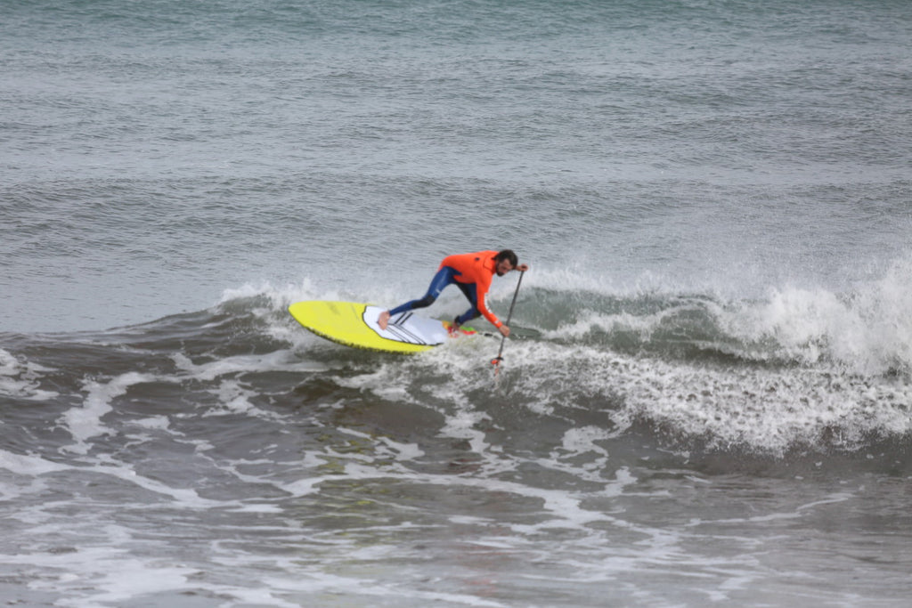 How to SUP surf with #teamRSPro: cutback backside