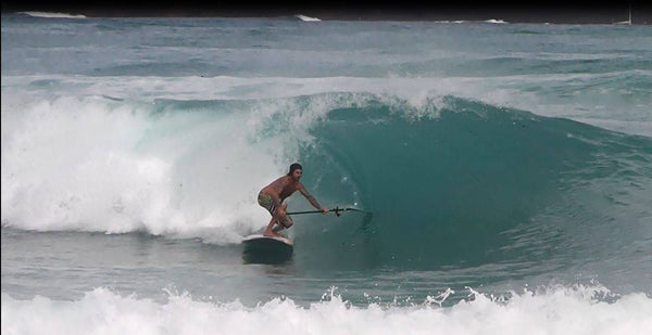 Joan Bonet finding some ripping curls in Fuerte