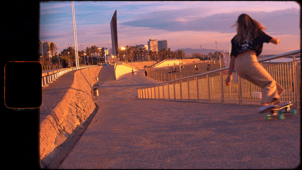 No Waves day interview with Marta Davila about the surf and skate scene in Barcelona