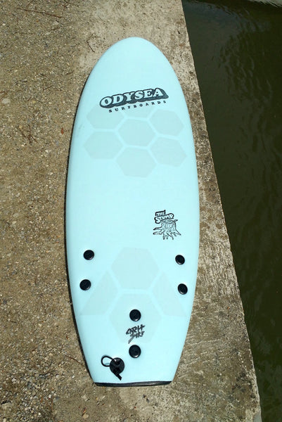 Catch Surf soft top board with HexaTraction