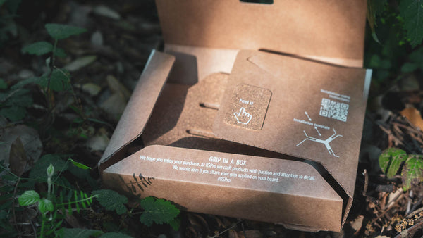 RSPro Hexa Tail cardboard  and compact packaging