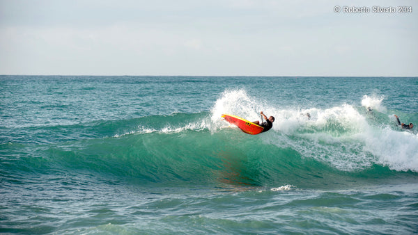 Federico Piccinaglia, RSPro ambassador destroying another wave lip