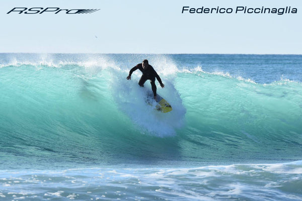 Federico Piccinaglia dropping on a bomb in Italy