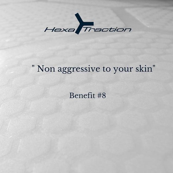 HexaTraction RSPro® is not aggressive on your skin