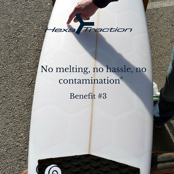 Hexatraction no melt no hassle no contamination