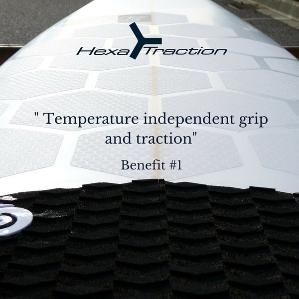 HexaTraction temperature independent grip and traction
