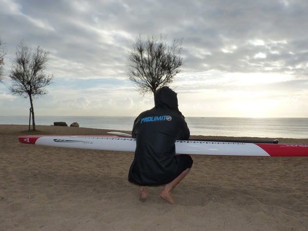 Pepe Oltra RSPro SUP racer ready and concentrated