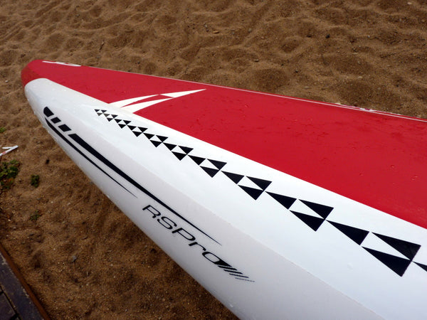 Pepe Oltra RSPro SUP racer Stripes RSPro rail saver