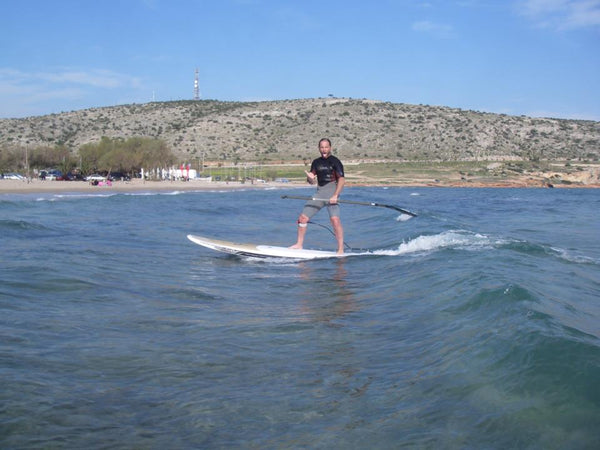 Rail Saver PRO for SUP in Greece