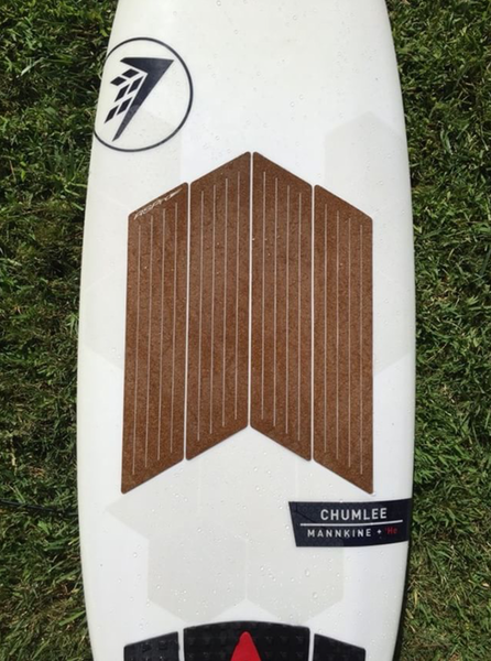 Firewire Chumlee waxless surfboard thanks to RSPro products