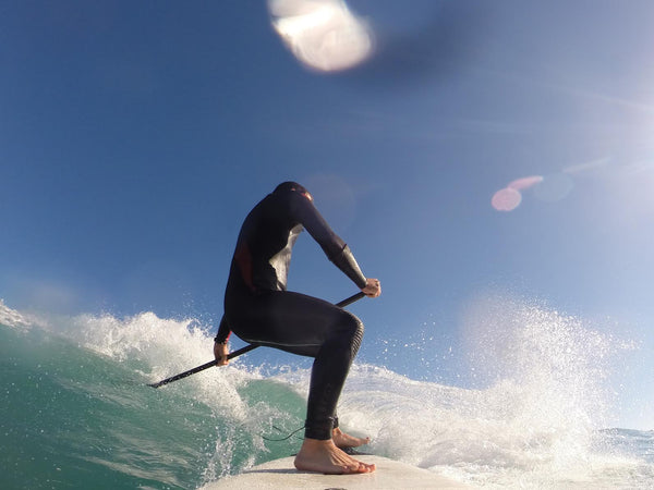 Snap turn by Ugutz Karrera, SUP surfer, RSPro ambassador