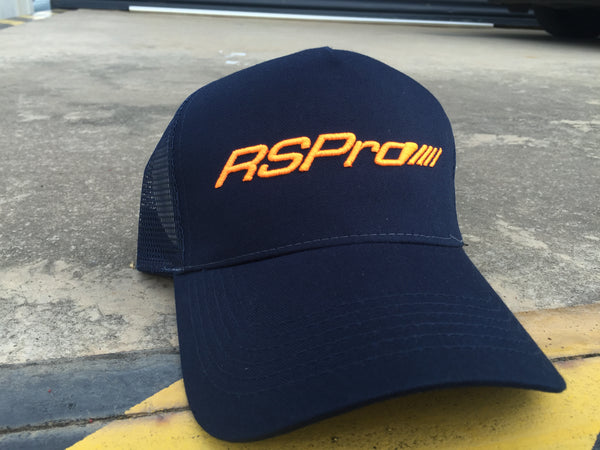 team RSPro cap in blue and orange
