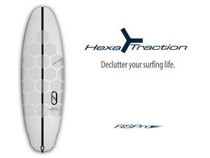Hexa Traction declutters your surfing life