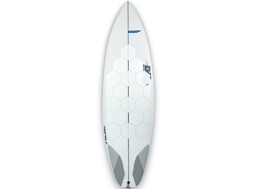 RSPro HexaTraction White edition on a DHD surfboard